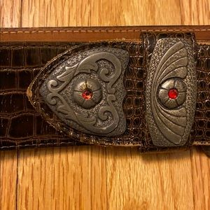 Accessories - Vintage Boho Chic Leather Belt